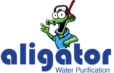 Aligator Water Purification Logo