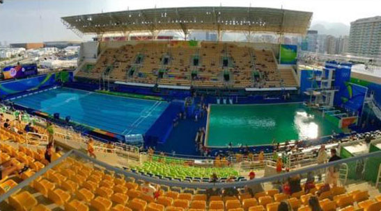 Olympic Pool in Rio